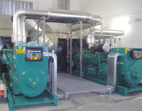 Two generator sets – model C1675D5