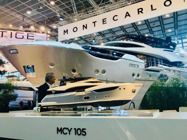 Yate MCY105 en Boot Dusseldorf 2018